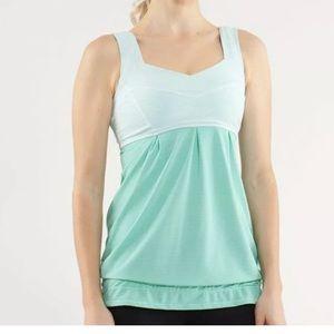Lululemon Run With Me Drawstring workout yoga tank